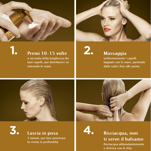 Low Shampoo Elvive - how to