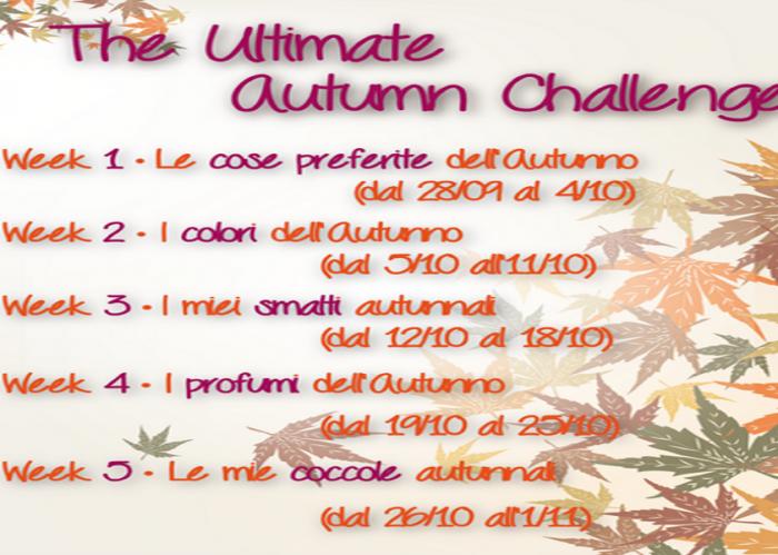 Ultimate Autumn Challenge