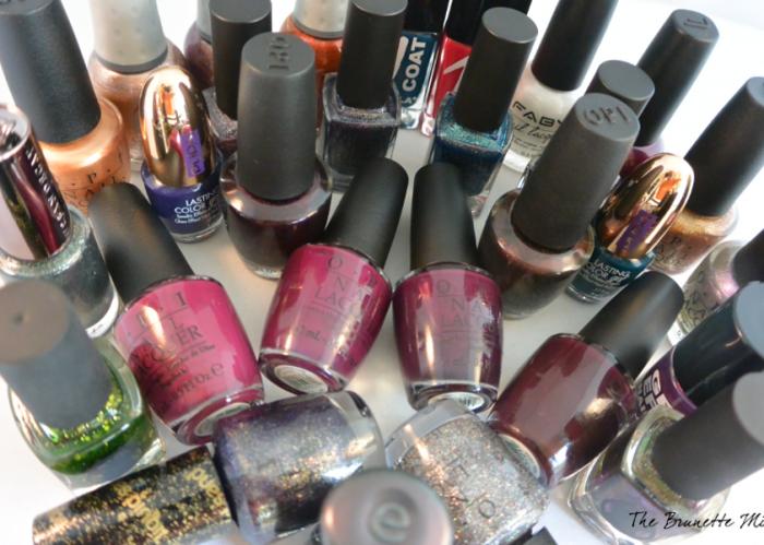 nail polish collection TBM
