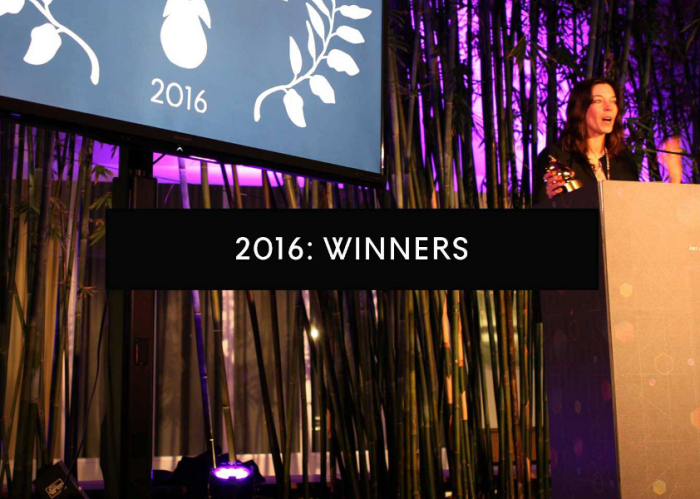 The Art and Olfaction Awards 2016